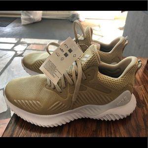 Men's Adidas Alphabounce Beyond Gold Running Shoes